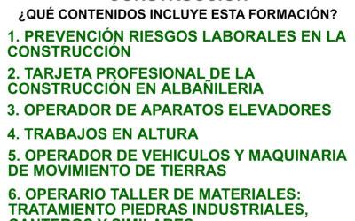 Curso Operario en Industria y Construcción